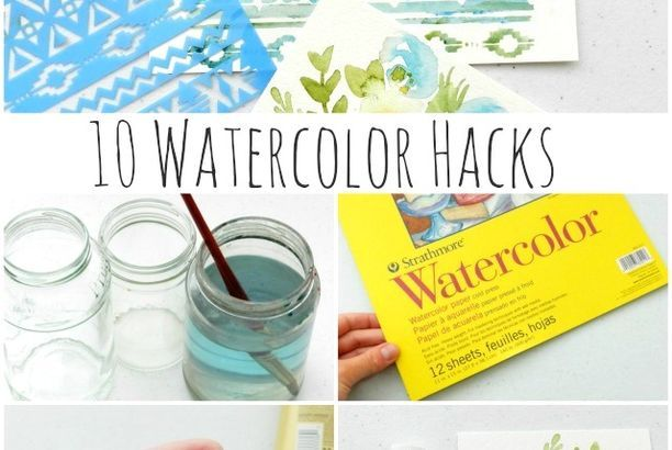 10 Watercolor Painting Hacks To Make Painting Easier Elise Engh