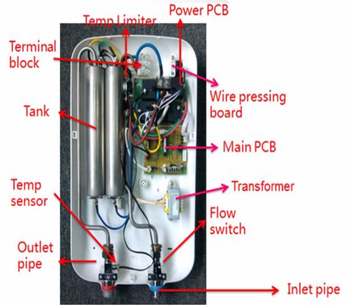 Resultado De Imagen Para Como Funciona Un Calefon Electrico Diy Induction Heater Circuit Simple