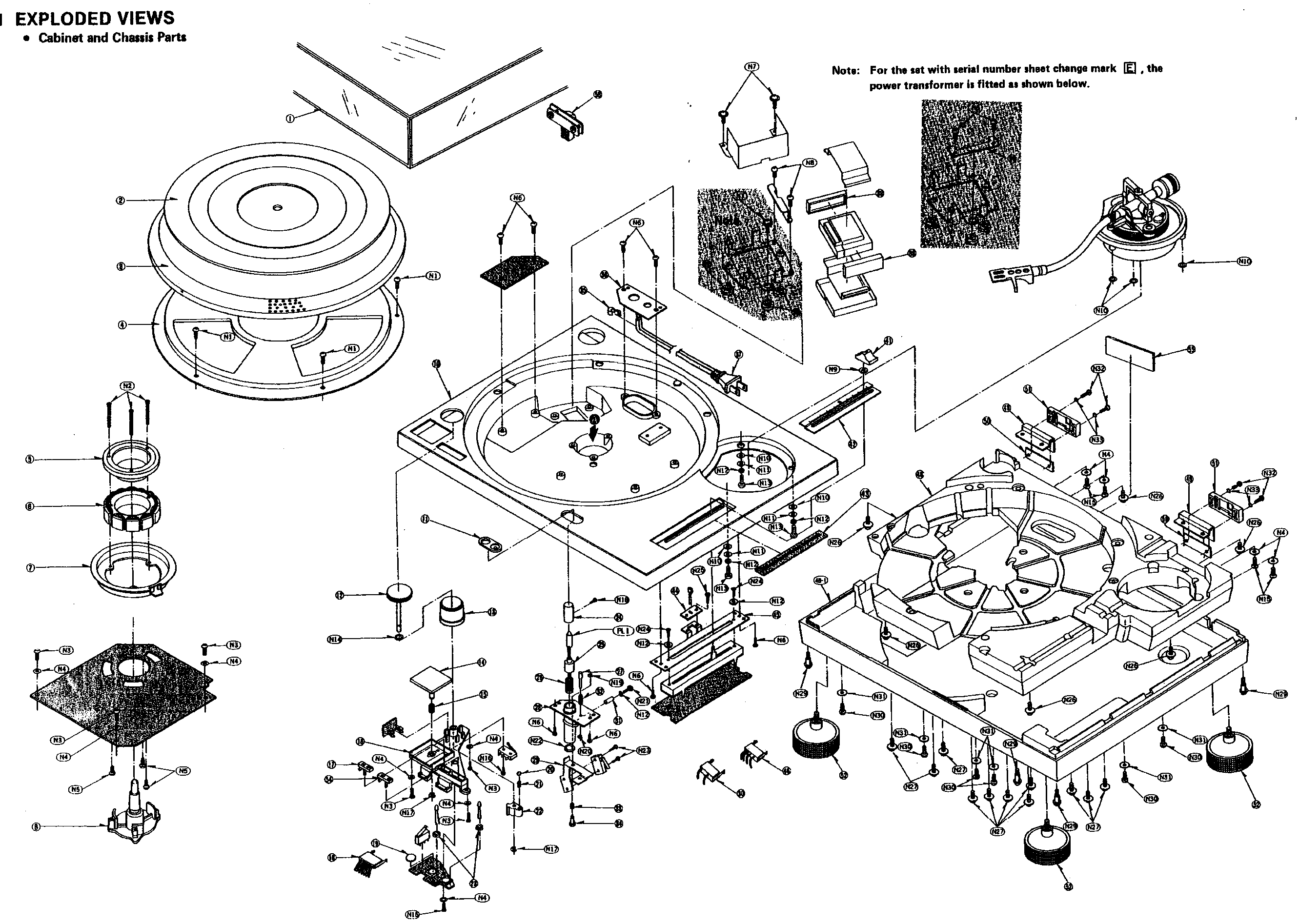 IT'S NOT THAT COMPLICATED Exploded view of a Technics