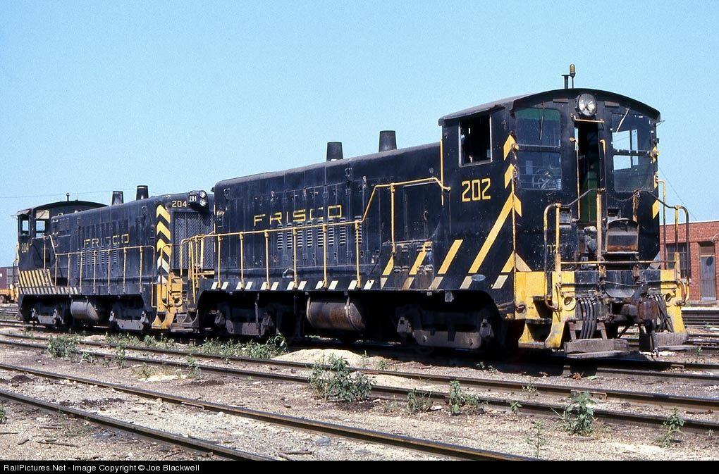 SLSF 202 Frisco Baldwin S12 at Springfield, Missouri by