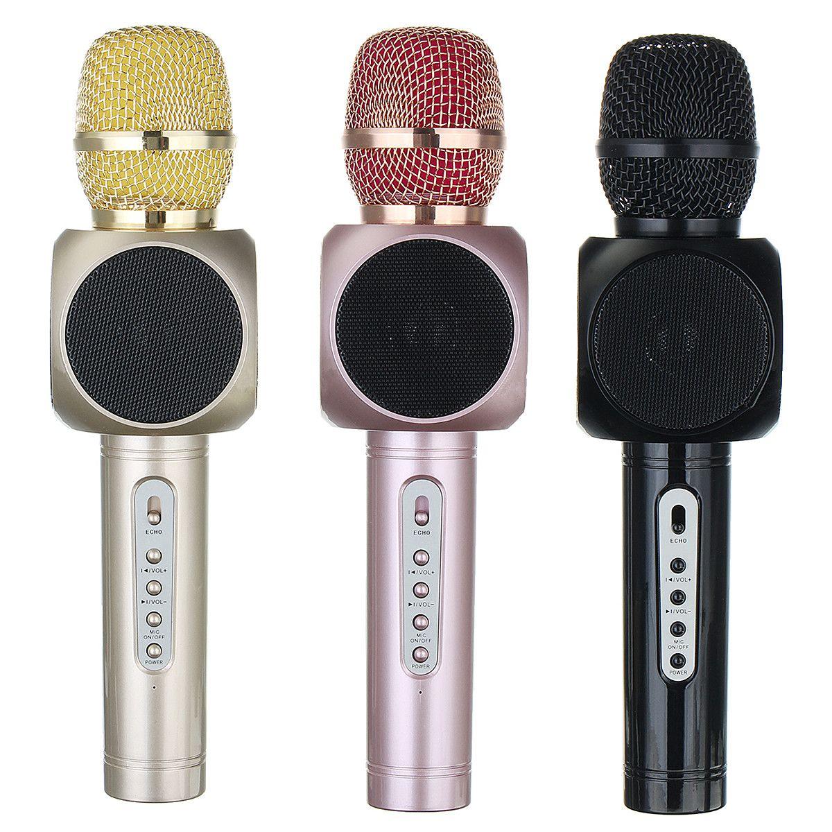 E103 handheld ktv karaoke wireless microphone bluetooth