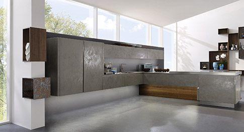 Alno Cera 2 in Grigio Alno Kitchens Pinterest Kitchens - alno küchen fronten