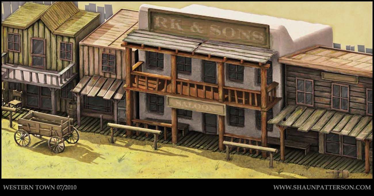 Wouldn T Mind Building A Western Town On The Farm Who Knows