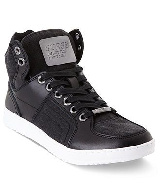 GUESS Trippy High Top Sneakers - Shoes
