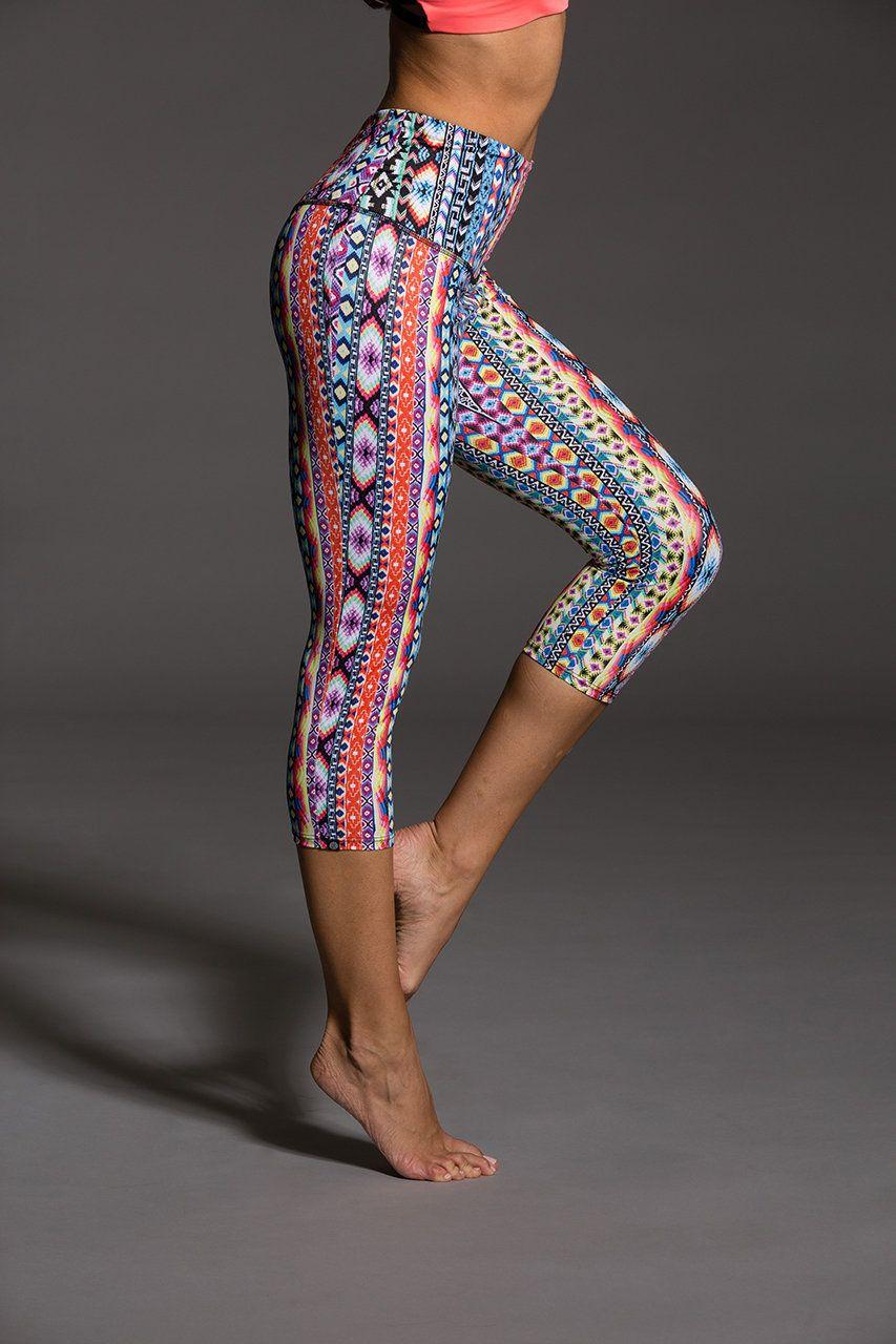 High Rise Capri - Friendship | Onzie | Yoga | Pinterest | Fitness ...