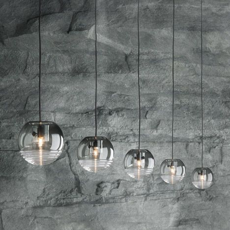 Rough Smooth Collection By Tom Dixon Ball Pendant Lighting Tom Dixon Lighting Lighting Inspiration
