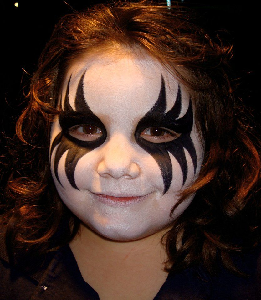 20+ cool and scary halloween face painting ideas | inspiration