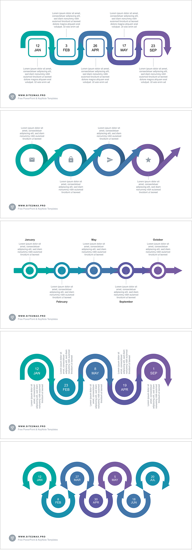 40 free infographic templates to download tng pinterest timeline arrow ppt type 2 for powerpoint template get it free toneelgroepblik Gallery