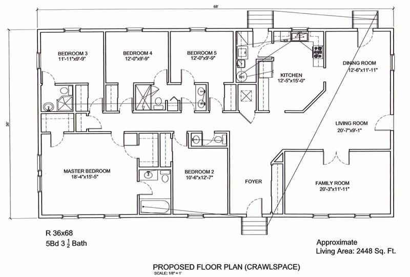 5 Bedroom Bungalow House Plans House Plans 3d 3d Printing Of House Plans 3d Small Bungalow House Plans House Plans 5 Bedroom House Plans House Floor Plans
