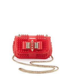 752be624a85 Sweety Charity Spiked Crossbody Bag Pink | FASHION STYLIST ...