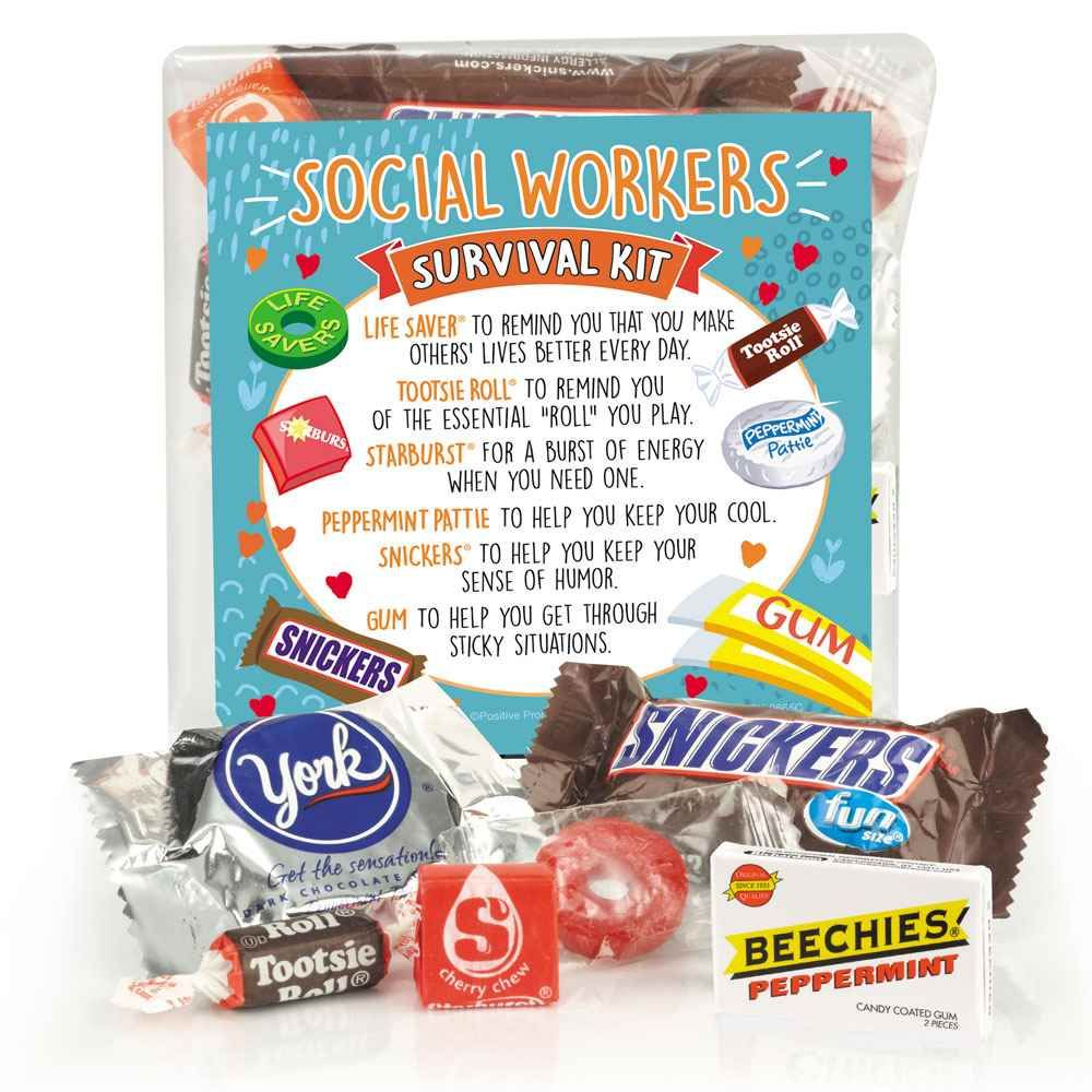 Social Workers Survival Kit #custodianappreciationgifts