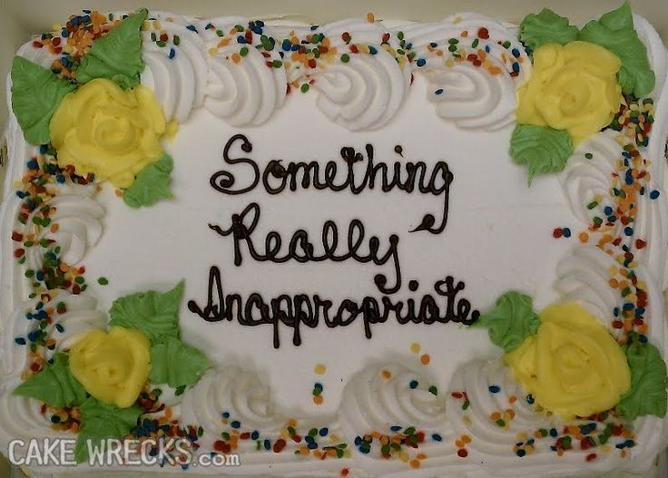 Cake Mistakes What Cake Mistakes Cake Wrecks Funny