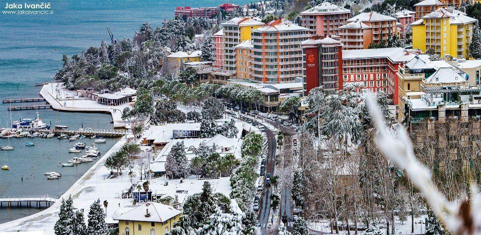 #Sneg v Sloveniji // #Snow in #Slovenia  #WinterSlovenia