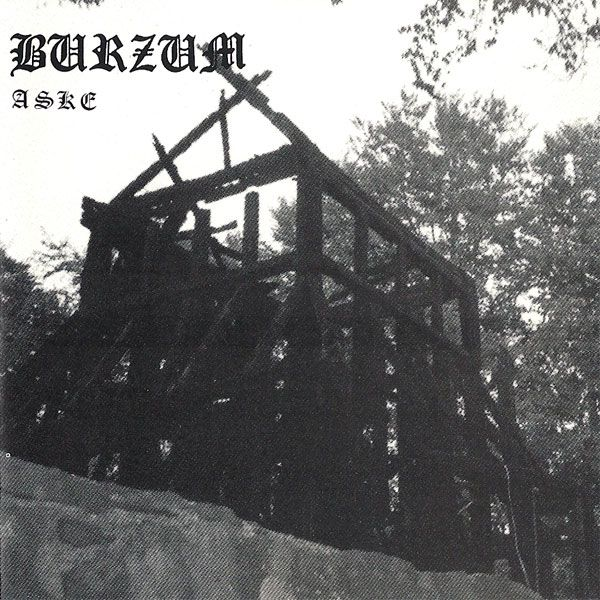 Burzum - Aske, my first experience with Norwegian black metal. It was actually the album art that drew me to listen to it, it's so mysterious and haunting.