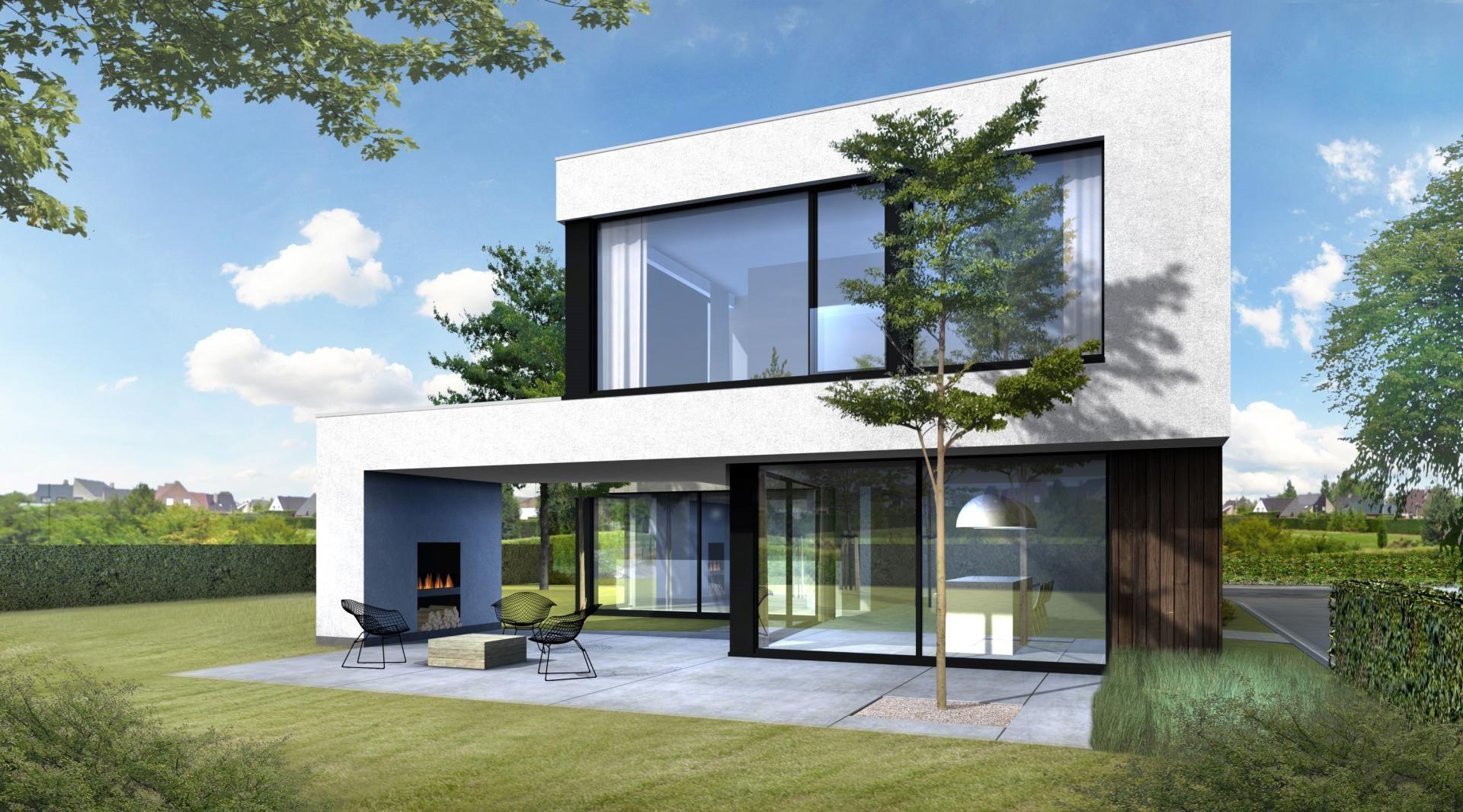 Woning V-V [Borsbeek]   Concrete House   Moderne Architectuur ...