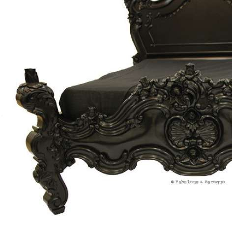 Voluptuous Vintage Bed Frames   Royal Fortune Beds Do Out With Minimalism  And In With Magnificence