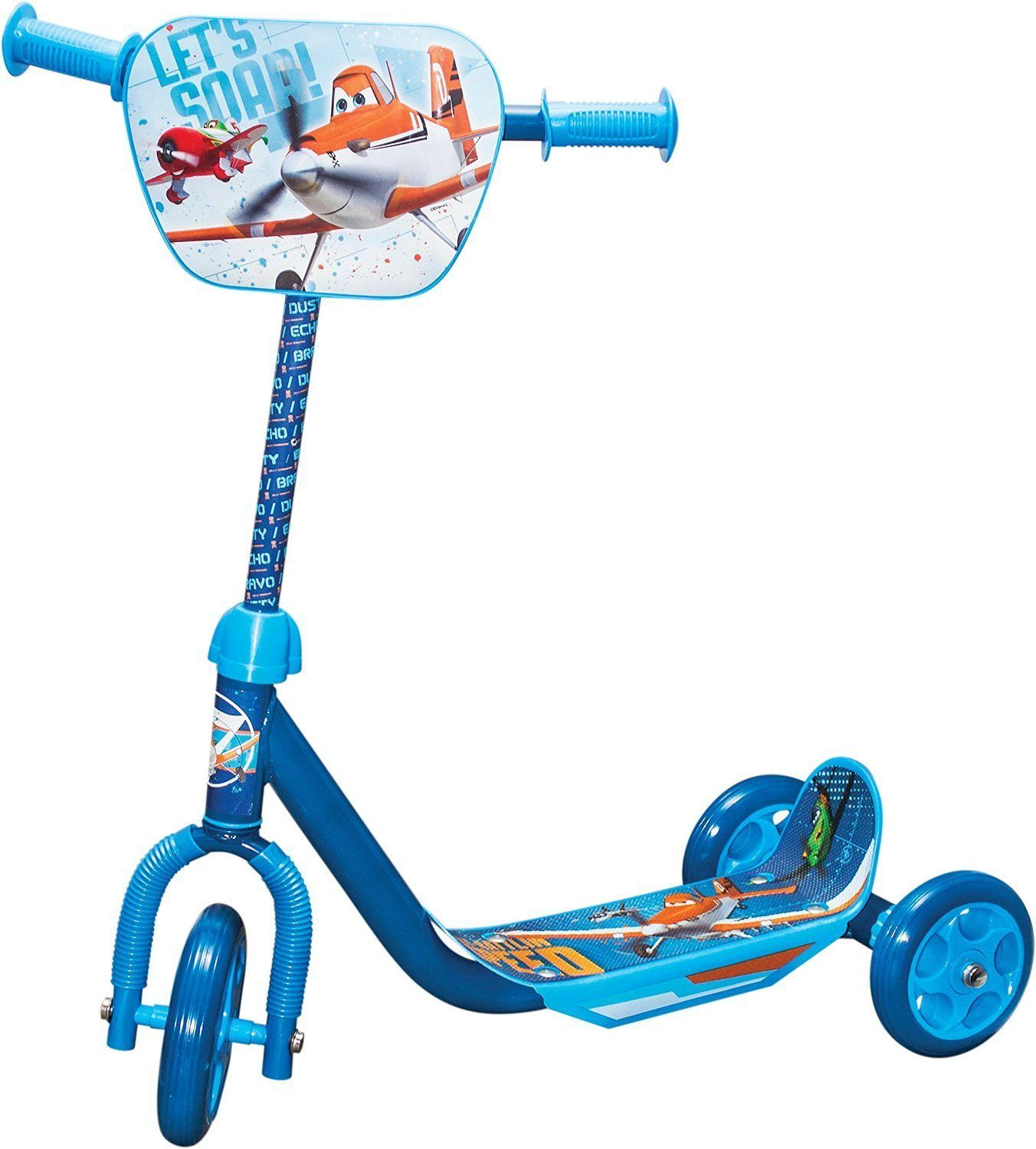 Disney planes 3 wheels kids boys scooter outdoor toys games