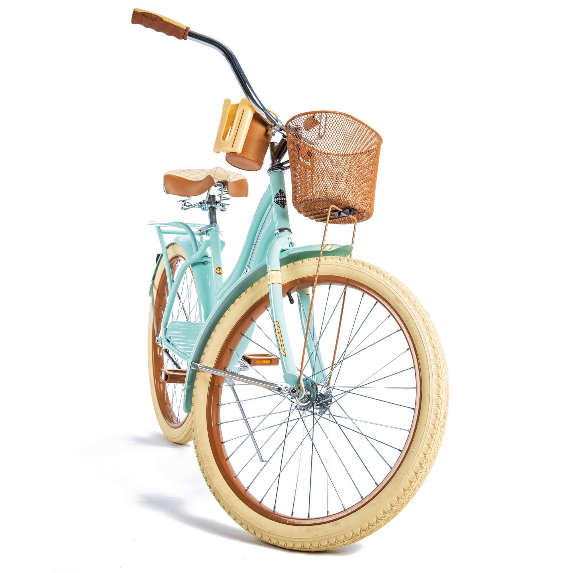 Huffy 24 nel lusso girls cruiser bike mint green