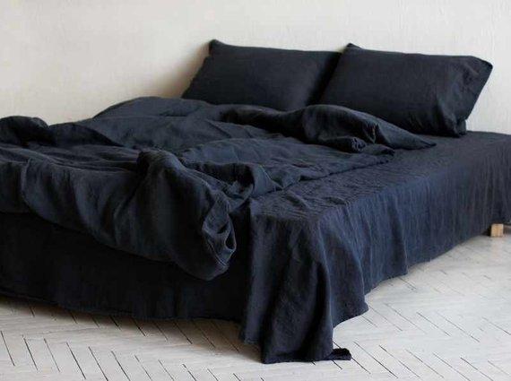 Best Sale Black Friday Sale Linen Bed Skirt Bed Linens Bedroom 640 x 480