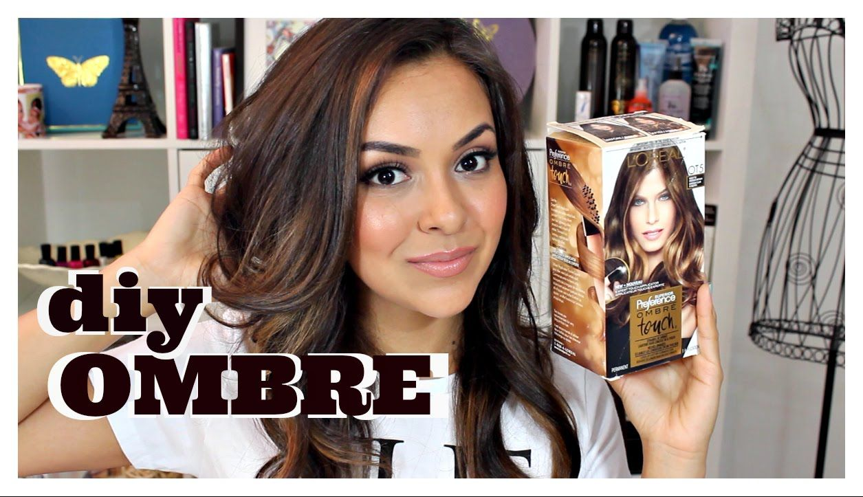 Diy Ombre Hair Using L Oreal Ombre Touch Kit Review Trinaduhra Diy Ombre Hair Ombre Hair Color For Brunettes Diy Hairstyles