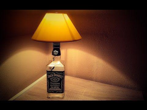 How To Make A Jack Daniels Bottle Lamp Diy Jack Daniels
