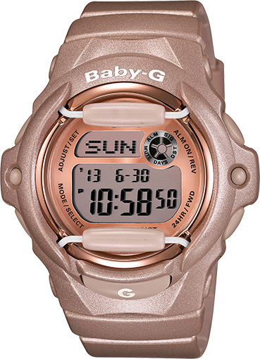 9207e9de8 Baby G shock watch for nursing! digital and water resistant. Either in  light pink, pink, or white. although this color is cute