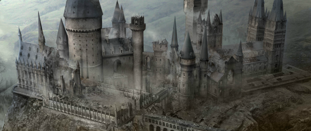 Image - Hogwarts Castle in the Daethly Hallows.png - Harry Potter Wiki