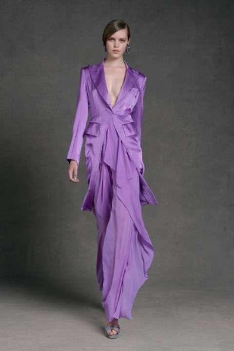 Di Nel Viola Donna Chiaro 2019 Abito Fashion KaranRicamo 0N8Ovmnw