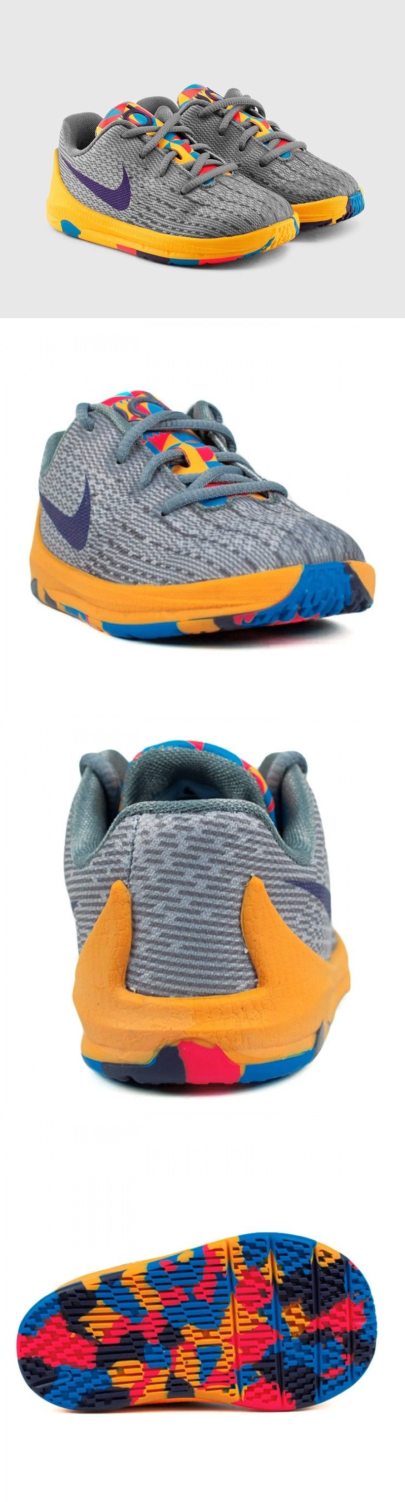 Baby Shoes Toddler Kids Nike Air Kd Viii Sneakers New Grey