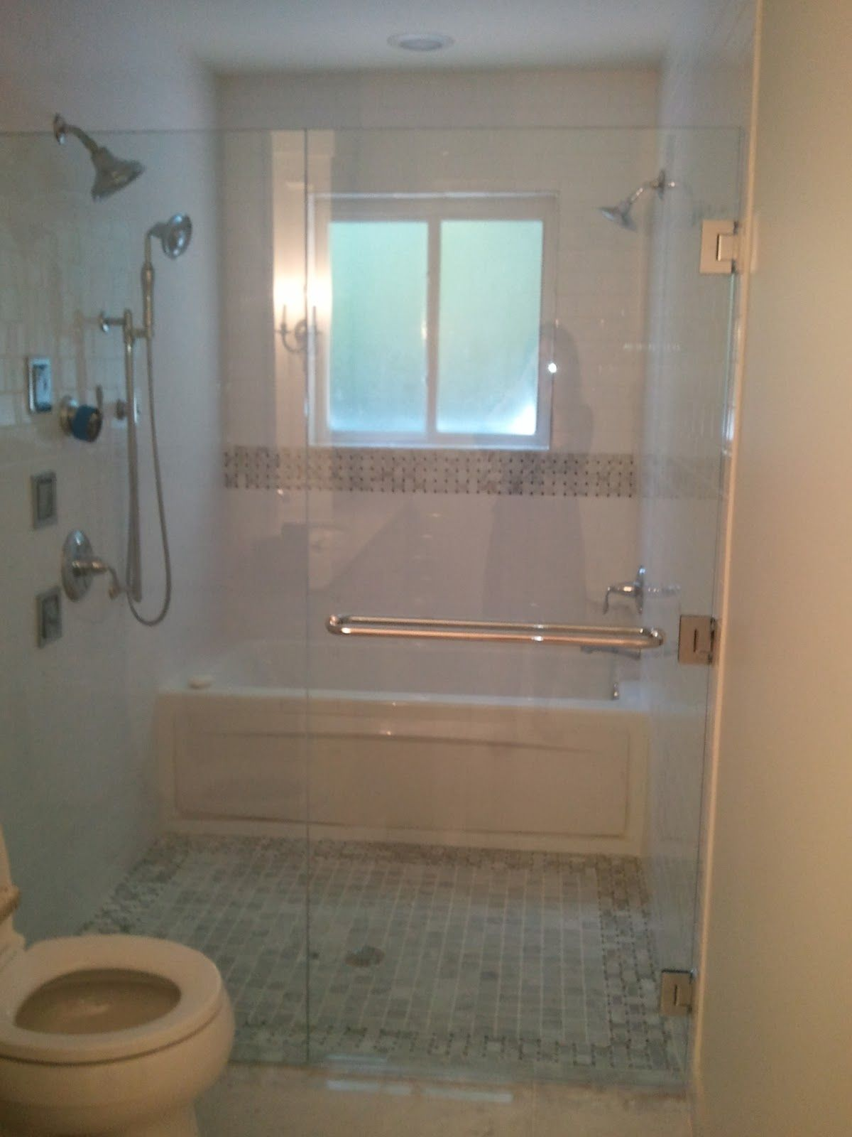 Bathtub Behind Standing Shower Pics Shower With Free
