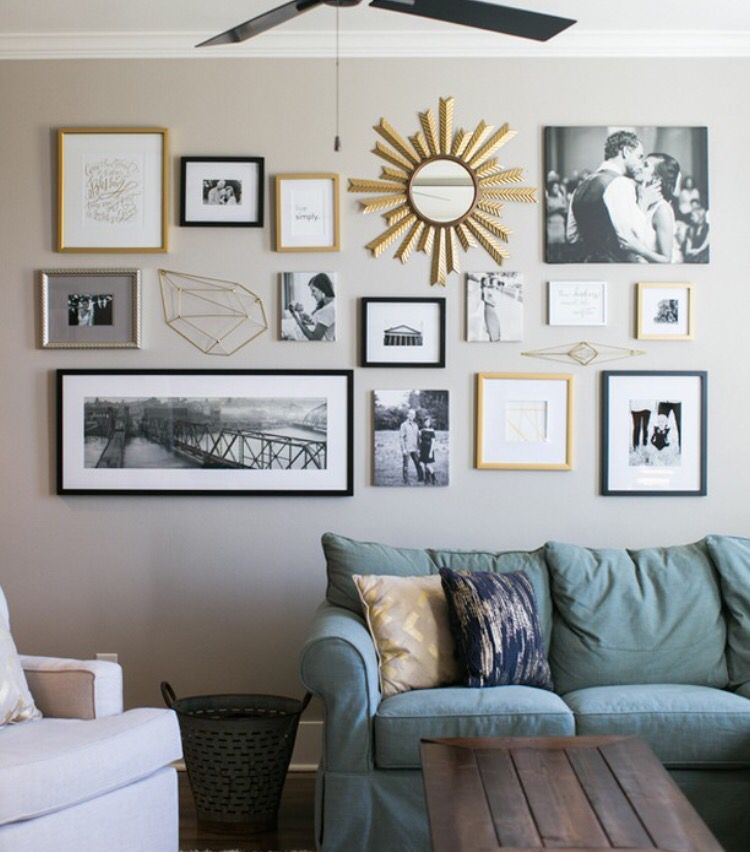 Pin von EasyGallery® changeable photo frames auf Gallery Wall Ideas ...