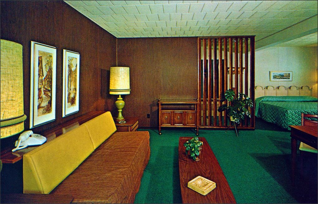 Rooms: Autoport Motel Suite 1960s State College, PA Edge And