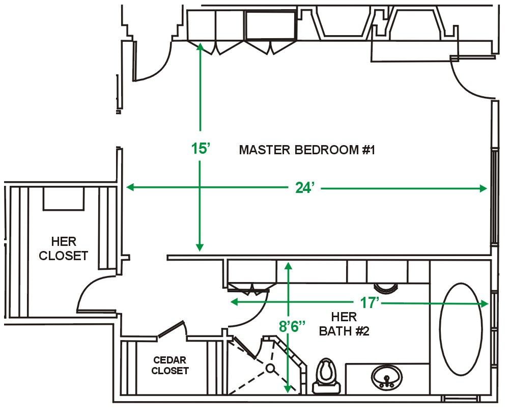 Master bedroom floor plan ideas Master bedroom bathroom layout