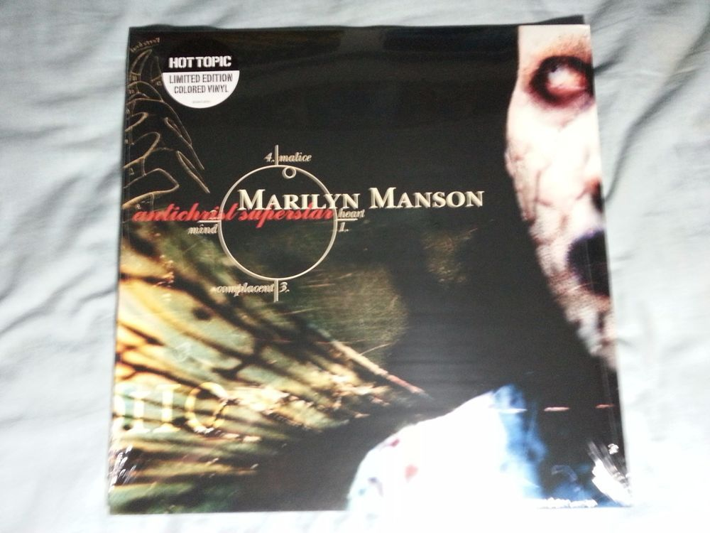 Lyric antichrist superstar lyrics meaning : Marilyn Manson Antichrist Superstar RED COLOR VINYL Record 2xLP ...