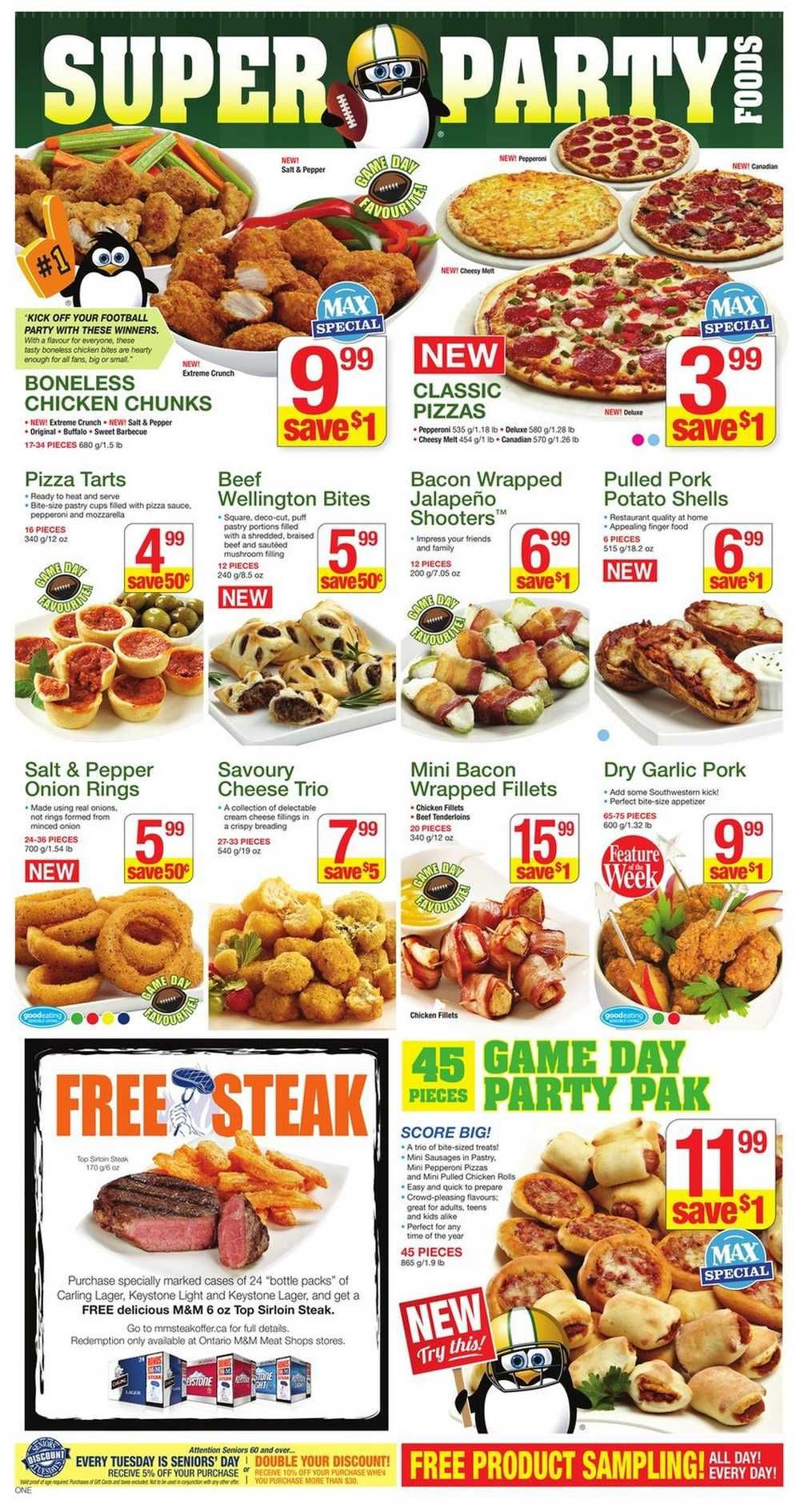 M&M Meat Shops flyer January 31 to February 6 Canada