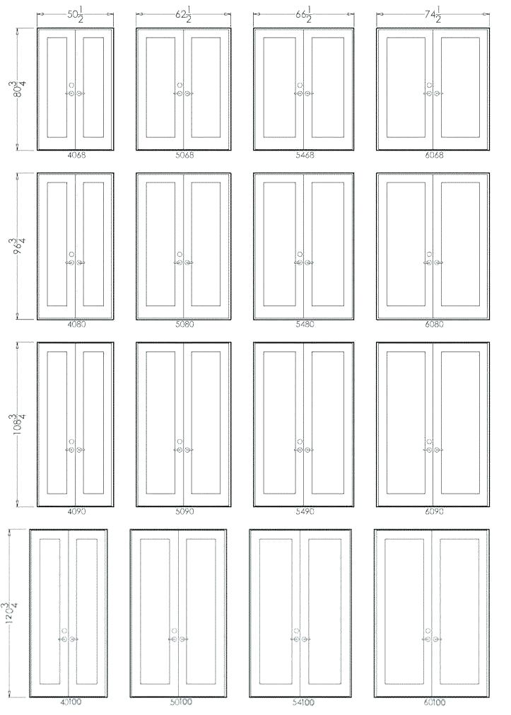Standard Double Door Size French Door Sizes Rough Opening Standard