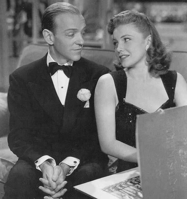 Fred Astaire and Joan Leslie -The Sky's the Limit (1943)