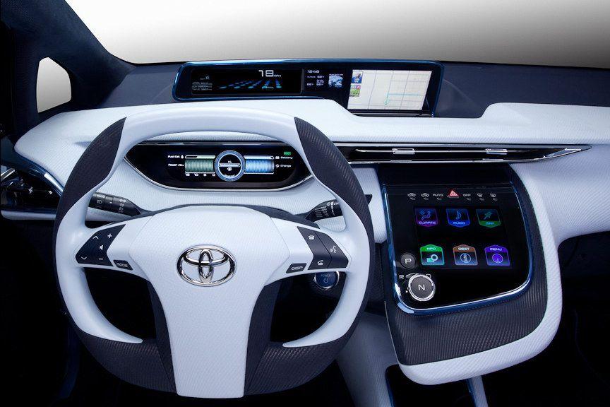 Toyota Fcv R Concept Toyota Prius Toyota Hybrid Toyota