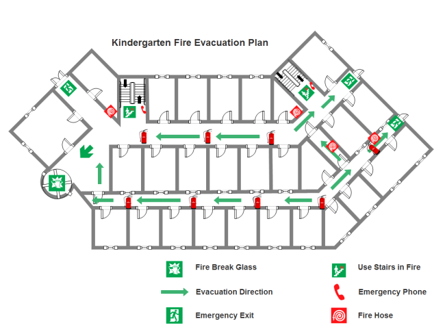 Evacuation Plan And Template