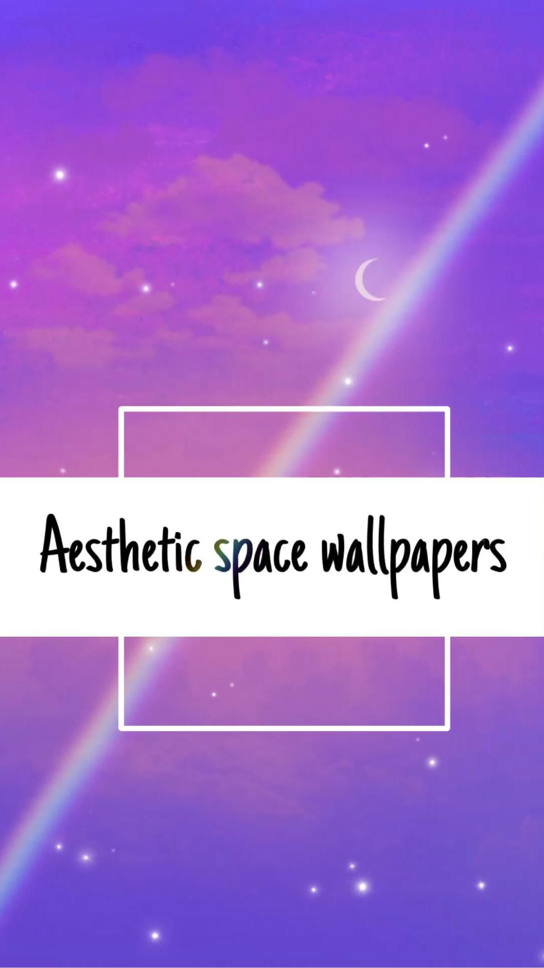 Aesthetic space wallpapers