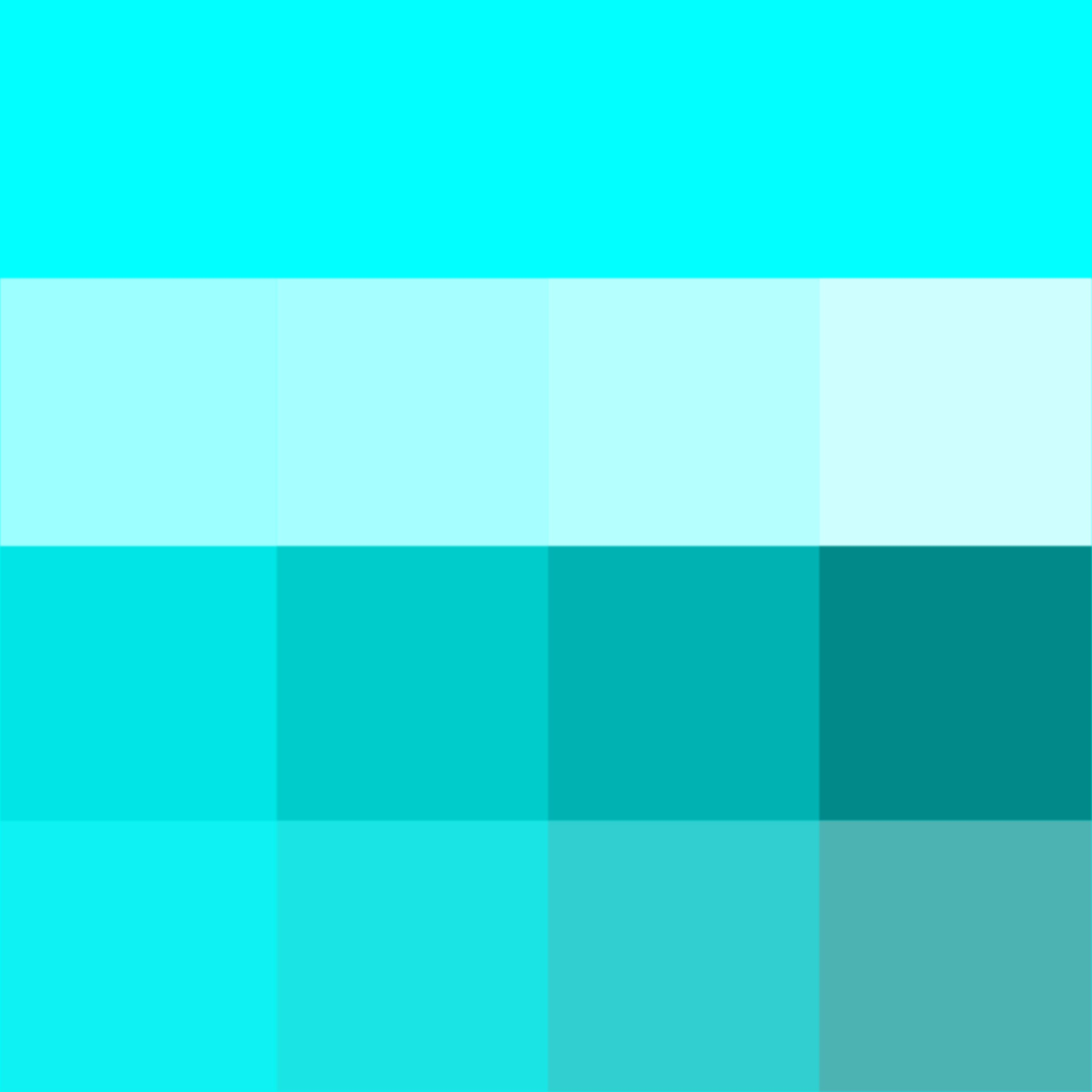 Aqua Shades Hue Pure Color With Tints Hue White Shades Hue Black And Tones Hue Grey Which Desaturates The Color Teal Colors Color Analysis