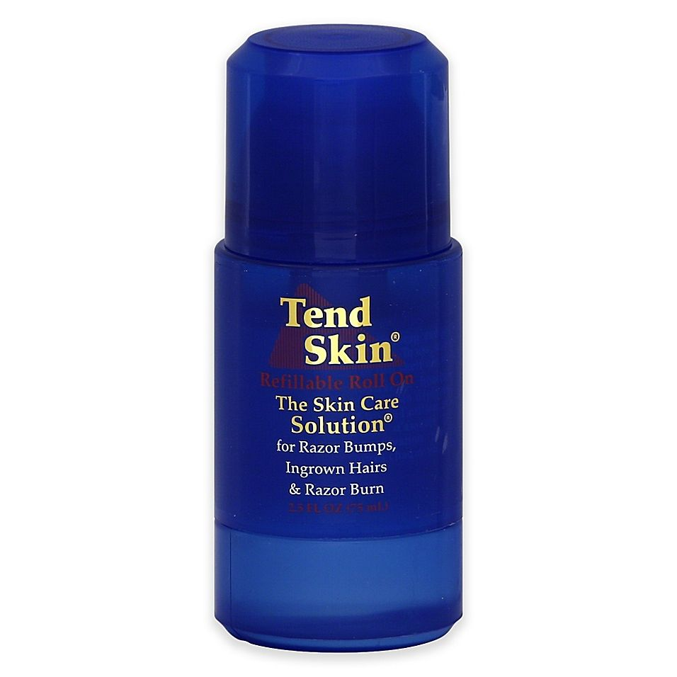 Tend Skin Skin Care Solution 2 5 Oz Refillable Roll On For Razor Burn And Ingrown Hair Bed Bath Beyond Tend Skin Ingrown Hair Skin Care Solutions