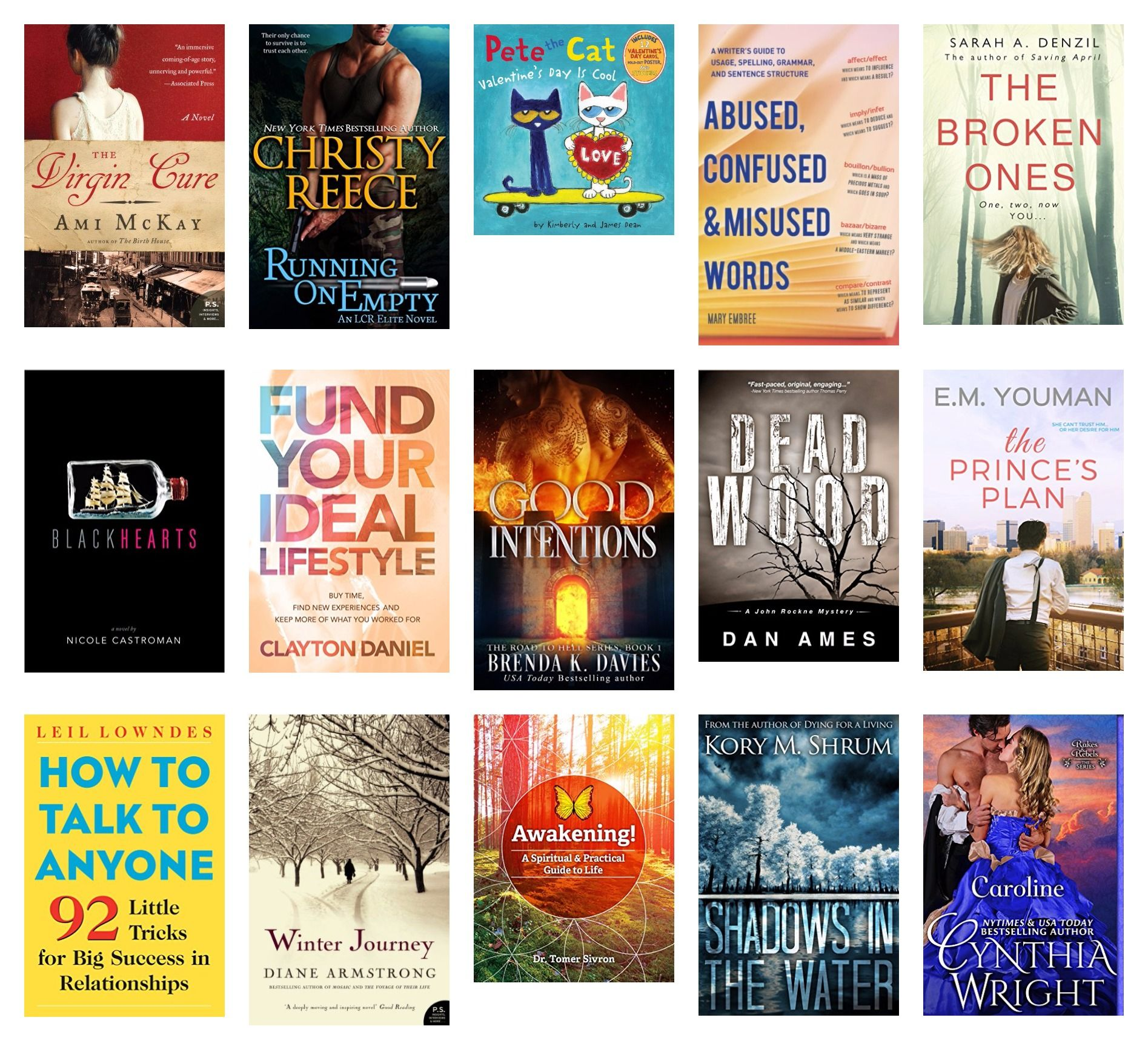 Here are your 6 FREE & 9 discount Kindle books for February 7:  https://ohfb.com/category/featured/?date=20170207