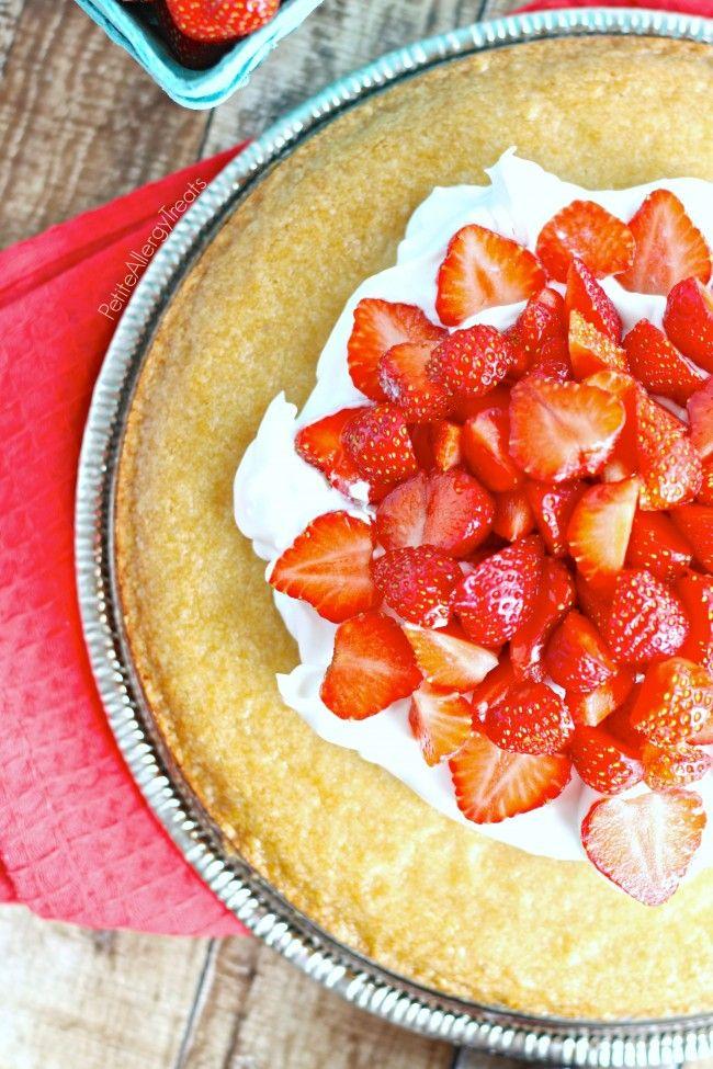 Easy Strawberry Shortcake Gluten Free Vegan Recipe Gluten