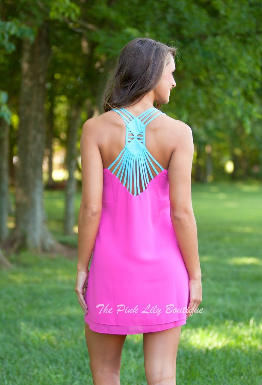 The Pink Lily Boutique - Can\'t Quit You Pink Dress, $37.00 (http ...