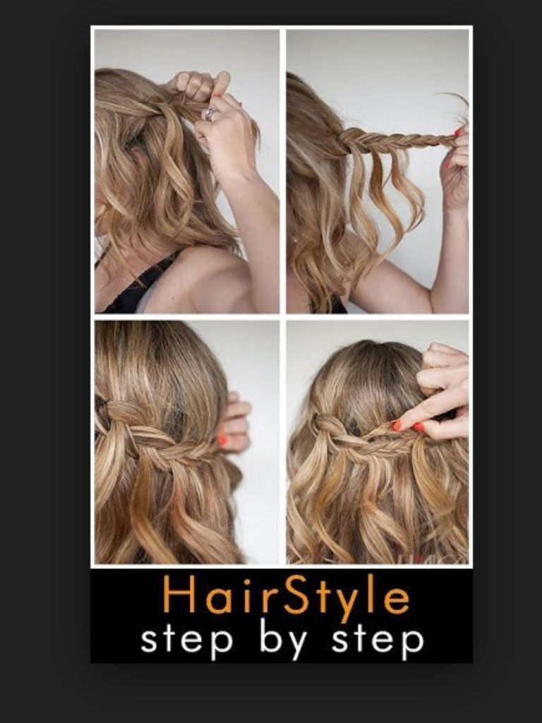 Another easy fun cute hairstyle if ur kinda runnin late for school