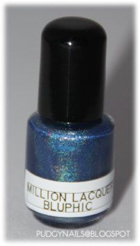 Million Lacquers Bluphic. $4.10, via Etsy.