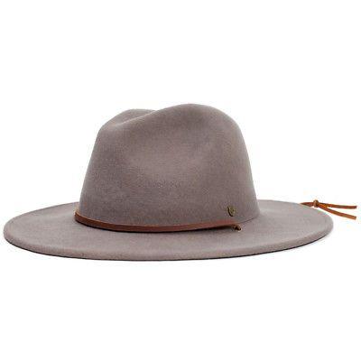 501412b7bad Hats 45230  Brixton Field Fedora Hat (Taupe Brown) Men S Wide Brim Wool Felt  Festival Cap -  BUY IT NOW ONLY   51.99 on eBay!