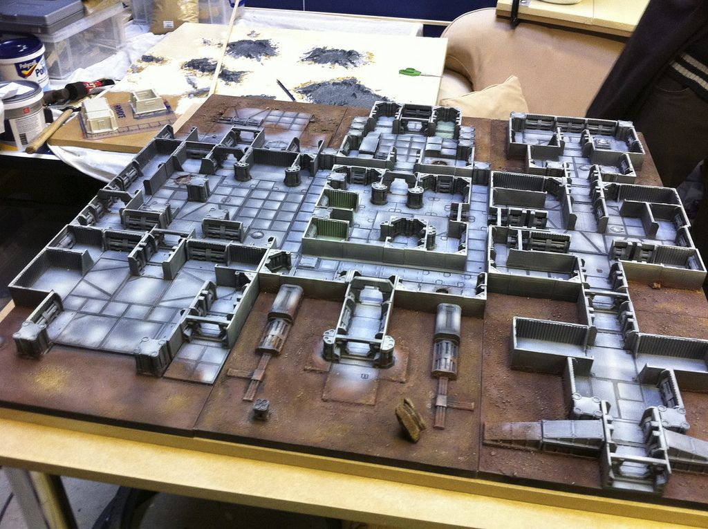 Ainsty Downbelow 15mm Terrain Dungeon Big Battle Chess Board