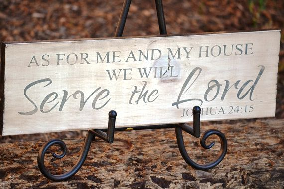 As For Me and My House We Will Serve the Lord by DollickDesigns, $26.99.  One of my favorites on Etsy.  I want it so bad!!